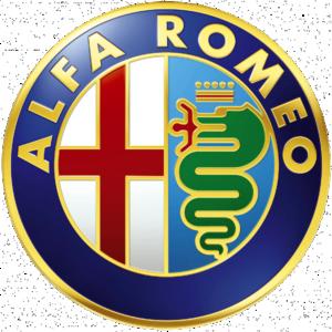 Logo Alfa Romeo 1982 Or